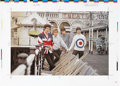 "Music Memorabilia:Photos, The Who ""Circus"" Magazine Poster Proof. A full-color, 25"" x 18""proof sheet of a pull-out poster featuring the Who in all th..."