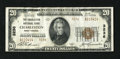 National Bank Notes:West Virginia, Charleston, WV - $20 1929 Ty. 2 The Charleston NB Ch. # 3236. Somefaint bends account for the grade on this lightly cir...