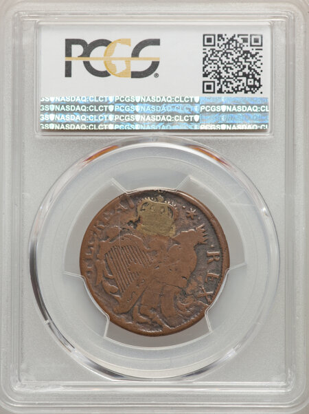 St. Patrick Halfpenny, BN PCGS Secure 12 PCGS