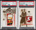 Basketball Cards:Lots, 2003 Ultimate Collection Chris Kaman & Jason Terry PSA Graded Pair (2).... (Total: 2 items)