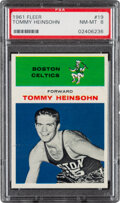 Basketball Cards:Singles (Pre-1970), 1961 Fleer Tommy Heinsohn #19 PSA NM-MT 8....