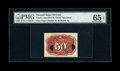 Fractional Currency:Second Issue, 50¢ Second Issue Experimental Back PMG Gem Uncirculated 65 EPQ....