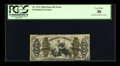 Fractional Currency:Third Issue, Fr. 1371 50¢ Third Issue Justice Inverted Back Surcharge PCGS VeryFine 30....