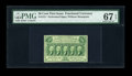 Fractional Currency:First Issue, Fr. 1311 50¢ First Issue PMG Superb Gem Unc 67 EPQ....