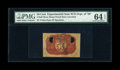 Fractional Currency:Second Issue, Second Issue 50¢ Negative Essay Experimental Back PMG Choice Uncirculated 64 EPQ....
