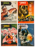 Pulps:Adventure, Doc Savage Group of 6 (Street & Smith, 1945) Condition: Average FN+.... (Total: 6 Items)