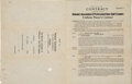 Football Collectibles:Others, 1929 Joe Carr Signed Baseball Contract. ...