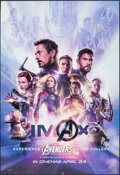 """Movie Posters:Action, Avengers: Endgame (Walt Disney Studios, 2019). Rolled, Very Fine/Near Mint. International IMAX One Sheet (27"""" X 39.75"""") DS A..."""