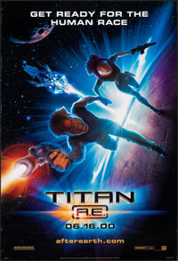"""Titan A.E. (20th Century Fox, 2000). Rolled, Very Fine. One Sheets (2) (27"""" X 41"""") DS Advance, Styles A &..."""