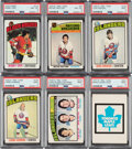 Hockey Cards:Sets, 1976 and 1977 Topps, O-Pee-Chee, Topps and WHA Hockey High Grade Complete Sets (5). ...
