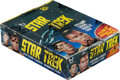 Non-Sport Cards:Unopened Packs/Display Boxes, 1976 Topps Star Trek Wax Box With 36 Unopened Packs. ...