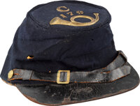 Forage Cap Identified to Soldier in the 179th Regiment Pennsylvania Infantry