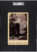 Baseball Cards:Singles (Pre-1930), 1888-89 N173 Old Judge Cabinets Charlie Bennett SGC EX 5 - His Only Old Judge Portrait. ...