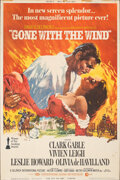 """Movie Posters:Academy Award Winners, Gone with the Wind (MGM, R-1968). Rolled, Fine+. Poster (40"""" X 60"""") Howard Terpning Artwork. Academy Award Winners.. ..."""