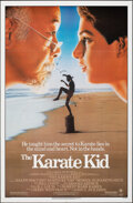 """Movie Posters:Sports, The Karate Kid (Columbia, 1984). Folded, Very Fine+. One Sheet (27"""" X 41""""). Sports.. ..."""