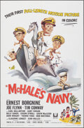 "Movie Posters:Comedy, McHale's Navy (Universal, 1964). Folded, Very Fine/Near Mint. One Sheet (27"" X 41"") Joseph Smith Artwork. Comedy.. ..."