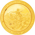 Military & Patriotic:Indian Wars, 2nd Type Gold Lifesaving Medal 50mm by Paquet Awarded to George Lee.. ...