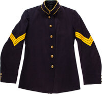 [George A. Custer]: Uniform, Kepi and Assorted Artifacts Identified to Henry W. Mechlin, Medal of Honor [MOH] Winner at...