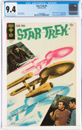 Silver Age (1956-1969):Science Fiction, Star Trek #4 (Gold Key, 1969) CGC NM 9.4 Off-white to white pages....
