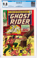 Silver Age (1956-1969):Western, The Ghost Rider #6 (Marvel, 1967) CGC NM/MT 9.8 White pages....