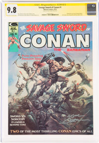 Savage Sword of Conan #1 Signature Series - Neal Adams (Marvel, 1974) CGC NM/MT 9.8 Off-white to white pages