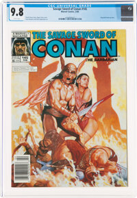 Savage Sword of Conan #145 (Marvel, 1988) CGC NM/MT 9.8 White pages