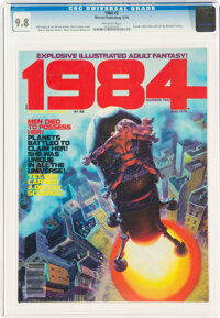 1984 #2 (Warren, 1978) CGC NM/MT 9.8 Off-white pages