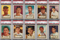 1952 Topps Baseball Partial Master Set (405 cards total)