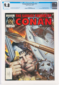 Savage Sword of Conan #113 (Marvel, 1985) CGC NM/MT 9.8 White pages