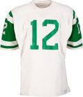 Football Collectibles:Uniforms, Early 1970's Joe Namath Game Worn New York Jets Jersey. ...