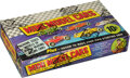 "Non-Sport Cards:Unopened Packs/Display Boxes, 1970 Topps ""Mini Model Cars"" Wax Box with 24 Unopened Packs. ..."