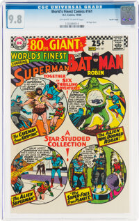 World's Finest Comics #161 Pacific Coast Pedigree (DC, 1966) CGC NM/MT 9.8 Off-white to white pages