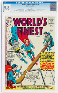 World's Finest Comics #154 (DC, 1965) CGC NM/MT 9.8 White pages
