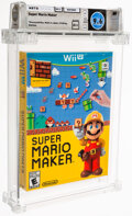 Video Games:Nintendo, Super Mario Maker Wii U - Wata 9.6 A++ Sealed, Wii U Nintendo 2015 USA. ...