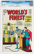Silver Age (1956-1969):Superhero, World's Finest Comics #147 Twin Cities Pedigree (DC, 1965) CGC NM 9.4 White pages....