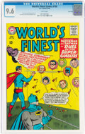 Silver Age (1956-1969):Superhero, World's Finest Comics #150 Twin Cities Pedigree (DC, 1965) CGC NM+ 9.6 White pages....