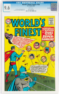 World's Finest Comics #150 Twin Cities Pedigree (DC, 1965) CGC NM+ 9.6 White pages
