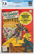 Golden Age (1938-1955):Adventure, Star Spangled Comics #11 (DC, 1942) CGC FN/VF 7.0 White pages....