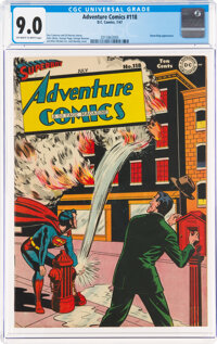 Adventure Comics #118 (DC, 1947) CGC VF/NM 9.0 Off-white to white pages