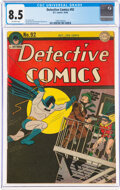 Detective Comics #92 (DC, 1944) CGC VF+ 8.5 Off-white pages