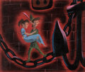 Animation Art:Concept Art, Mary Blair Peter Pan Wendy and Peter Pan Concept/Color Key Painting (Walt Disney, 1953)....