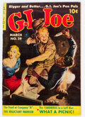 Golden Age (1938-1955):War, G. I. Joe #29 (Ziff-Davis, 1954) Condition: FN+....