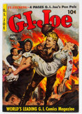 Golden Age (1938-1955):War, G. I. Joe #32 (Ziff-Davis, 1954) Condition: FN+....