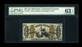 Fractional Currency:Third Issue, Fr. 1347 50c Third Issue Justice PMG Choice Uncirculated 63 EPQ....