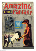 "Silver Age (1956-1969):Mystery, Amazing Adult Fantasy #10 U.K. Edition (Marvel, 1962) Condition:FN/VF. ""The Magazine That Respects Your Intelligence,"" or s..."
