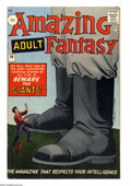 """Silver Age (1956-1969):Mystery, Amazing Adult Fantasy #14 U.K. Edition (Marvel, 1962) Condition:FN+. A mutant-themed story in this issue is called a """"Profe..."""