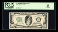 Error Notes:Inverted Reverses, Fr. 2009-B* $10 1934D Federal Reserve Note. PCGS Fine 15.. ...