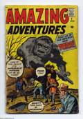 """Silver Age (1956-1969):Horror, Amazing Adventures #1 (Marvel, 1961) Condition: FR. """"Join Us in theSearch for Torr!"""" (Sorry, Tor Johnson fans, this is refe..."""