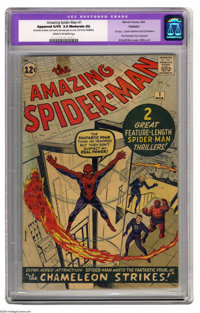 The Amazing Spider-Man #1 (Marvel, 1963) CGC Apparent GD/VG 3.0 Cream to off-white pages. This classic first issue retel...