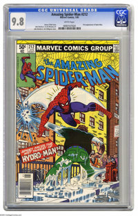 The Amazing Spider-Man #212 (Marvel, 1981) CGC NM/MT 9.8 White pages. First appearance of Hydro-Man. John Romita Jr. and...
